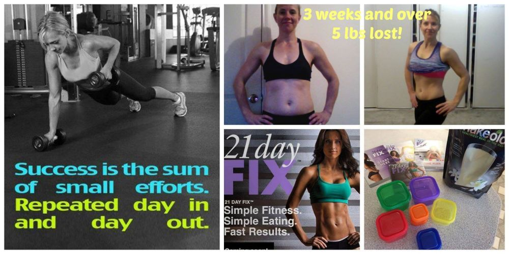 End of #21DayFix; Round 1  (2/2)